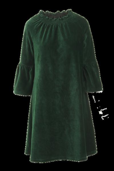 Image of Britt dress babycord green