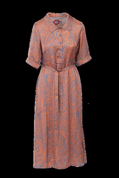 Image of Angelina orange and grey