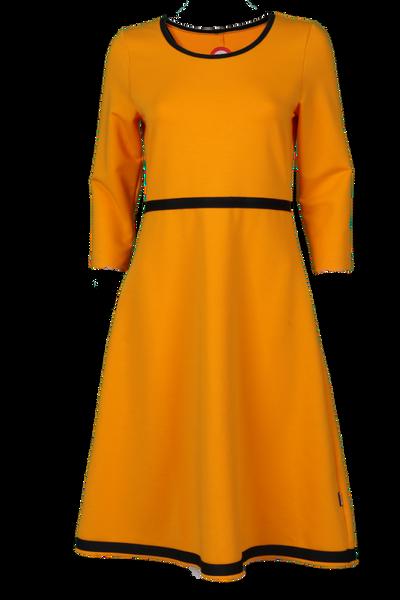 Image of Magda Yellow  and black dress