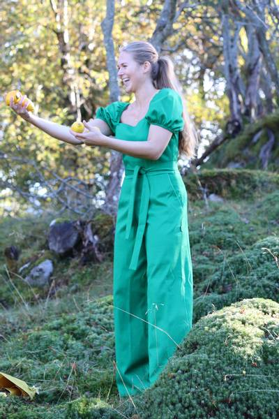 Image of Peggy lovely green jumpsuit