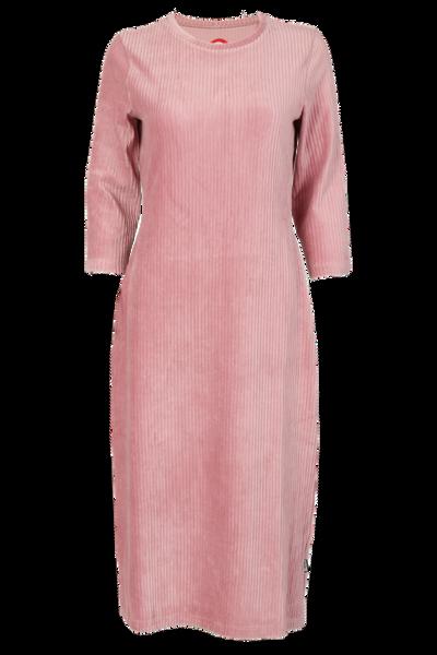Image of Malla dusty pink velvet dress