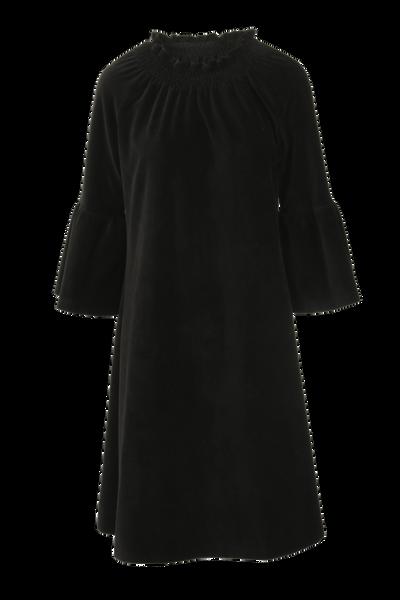 Image of Britt dress babycord black
