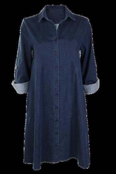 Image of Dorte blue Jeansdress