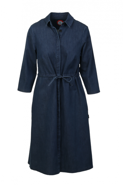 Image of Therese Jeans dress blue