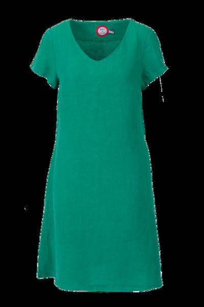 Image of Hannalena green linnen dress