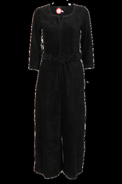 Image of Eveline black jumpsuit