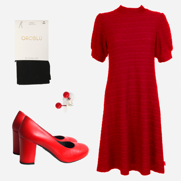 Image of Eli red shop the look