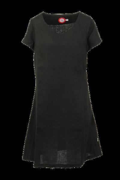 Image of Hannalena black linnen dress