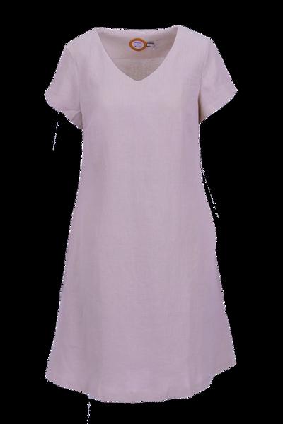 Image of Hannalena pink linnendress