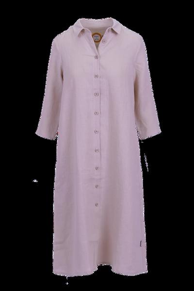 Image of Cecillia pink linnen dress