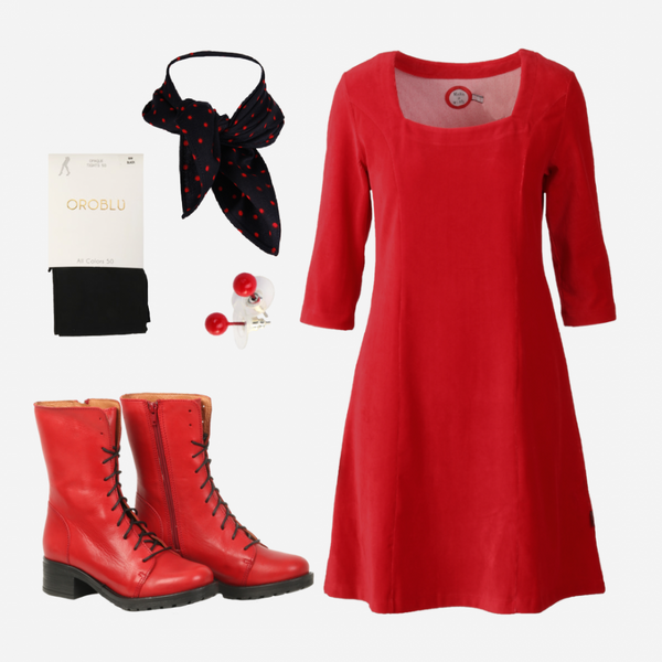 Image of Milla red shop the look
