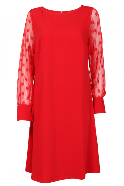Image of Audny red dress