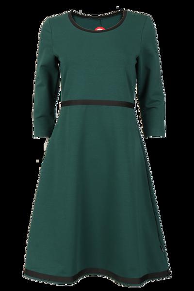 Image of Magda bottlegreen dress