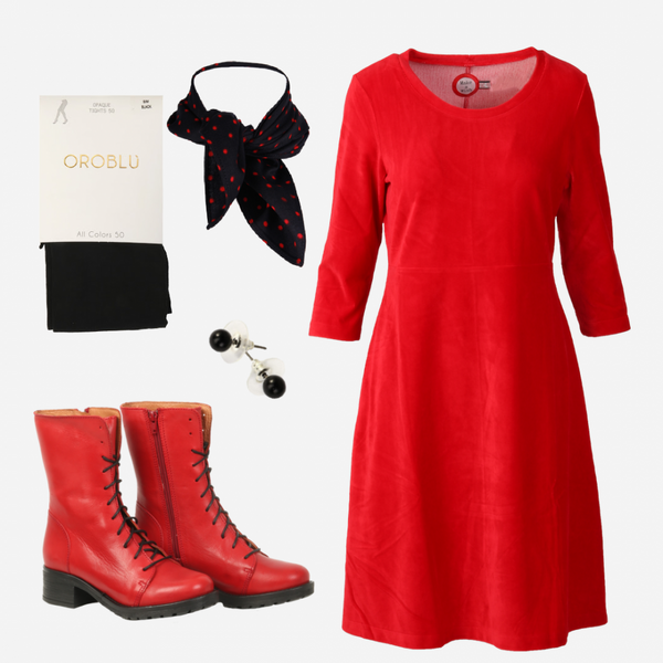 Image of Elli red shop the look