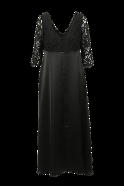 Image of Elizabeth black partydress