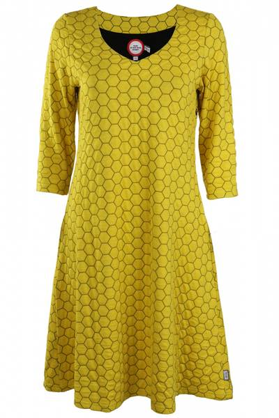 Image of Jorid Yellow dress