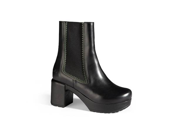 Image of Lilly Boots Black/green