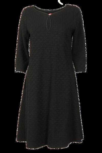 Image of Reidun black dress