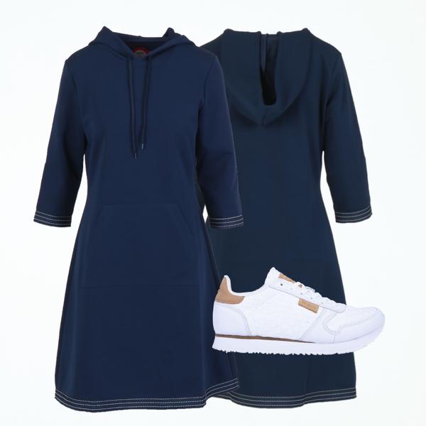 Image of Dagny blue dress shop the