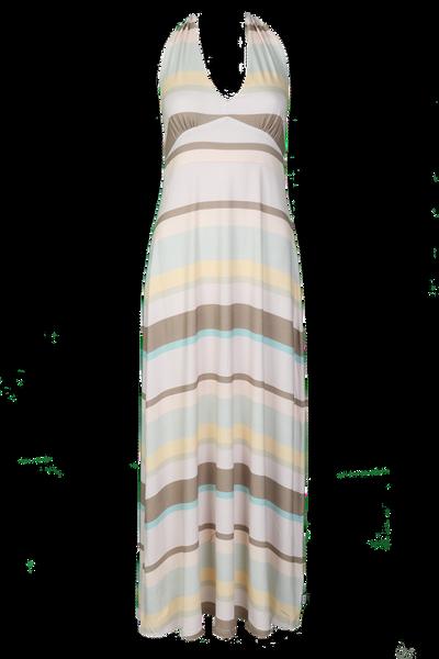 Image of Gunilla Pale long halterneck