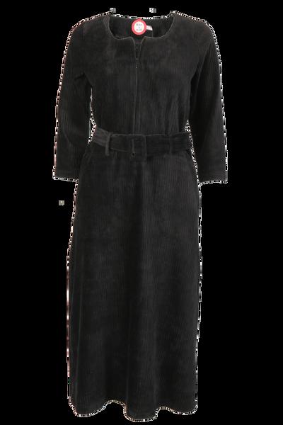 Image of Mariann black velvet dress