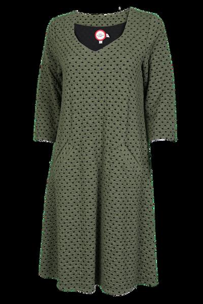 Image of Melinda olive green dress