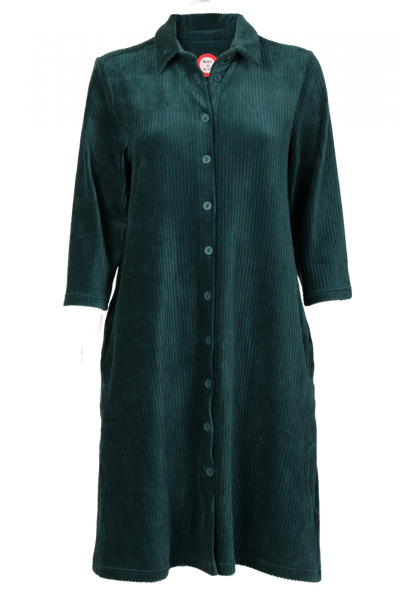 Image of Katinka bottlegreen velvet