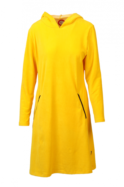Image of Gro yellow sporty hooded
