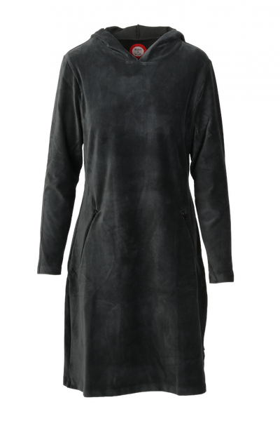 Image of Gro grey sporty hooded dress