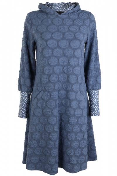 Image of Johanne Jeansblue hoodiedress