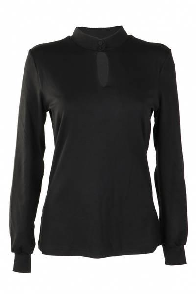 Image of Black basic sweater Lovise