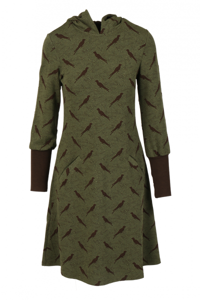 Image of Brynhild moss green brown