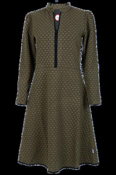 Image of Kate olive elegant dress