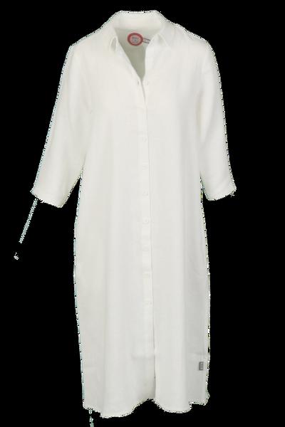 Image of Cecillia white linnen dress
