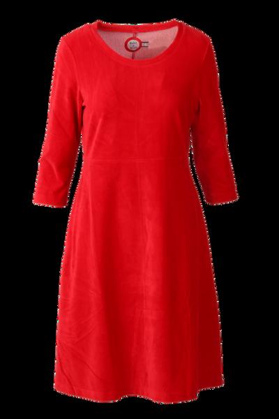 Image of Elli dress babycord red