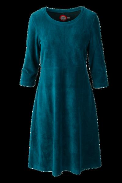 Image of Elli dress babycord petrol