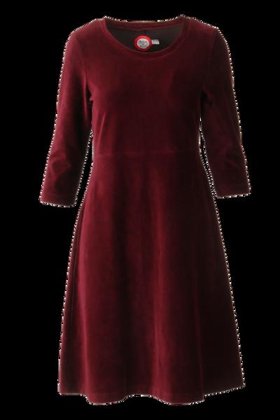 Image of Elli dress babycord bourdeaux