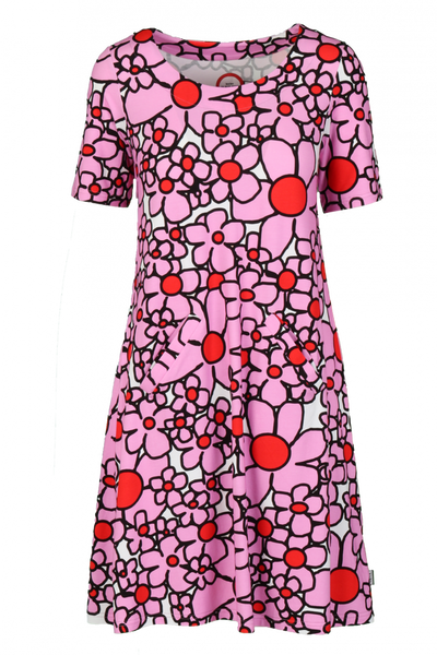 Image of Gina pink dress