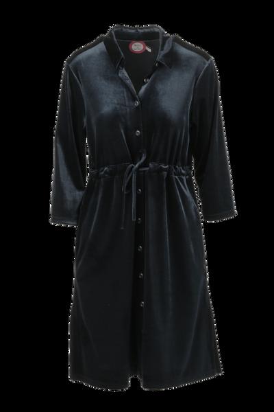 Image of Beth black velvetdress/jacket