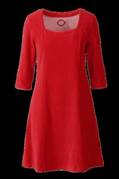 Image of Milla dress babycord red