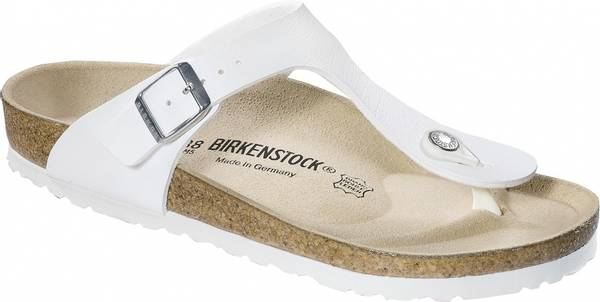 Image of Birkenstock Gizeh hvit BF