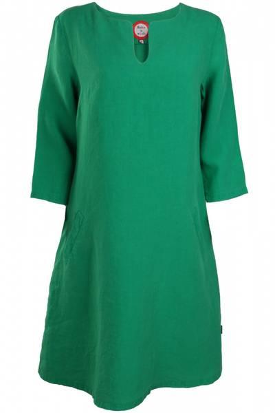 Image of Hera Green linnen dress