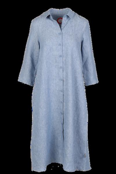 Image of Cecillia blue linnen dress