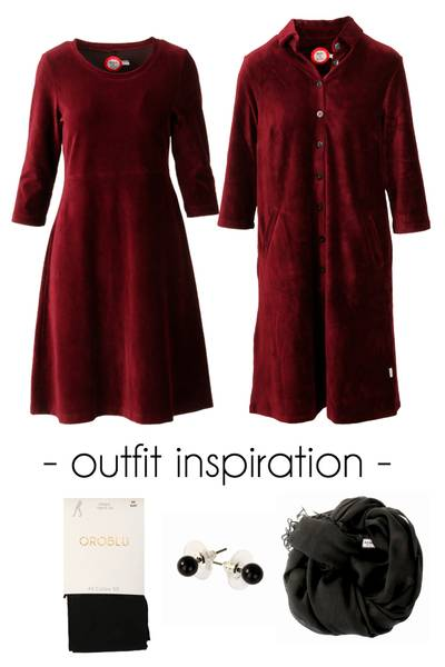 Image of Outfit Elli & Silje bourdeaux