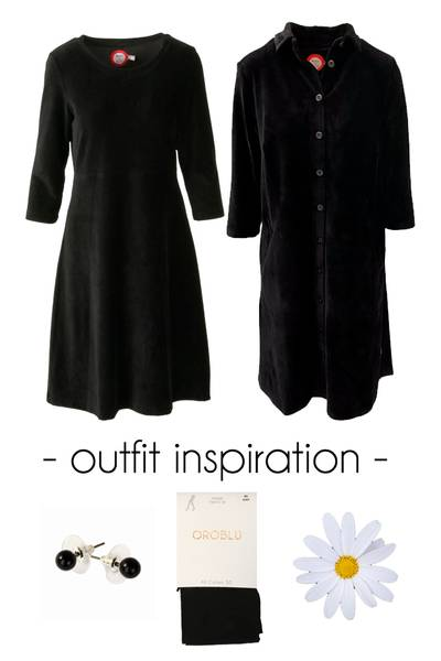 Image of Outfit Elli & Silje black