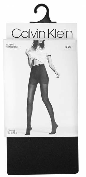 Image of Calvin Klein blackt 80 den,