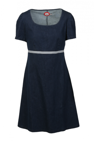 Image of Anette Jeansdress blue and