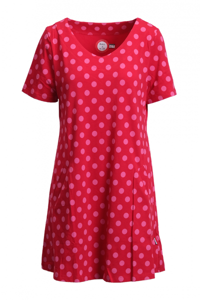 Image of Alexis pink and red tunic /