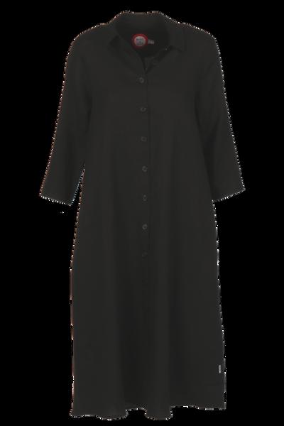 Image of Cecillia black linnen dress