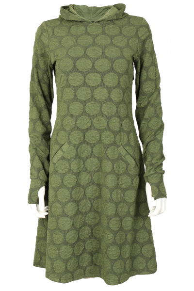Image of Jannike olivegreen dress